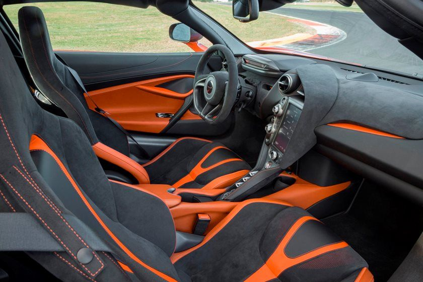 2020 Mclaren 720s Coupe Interior