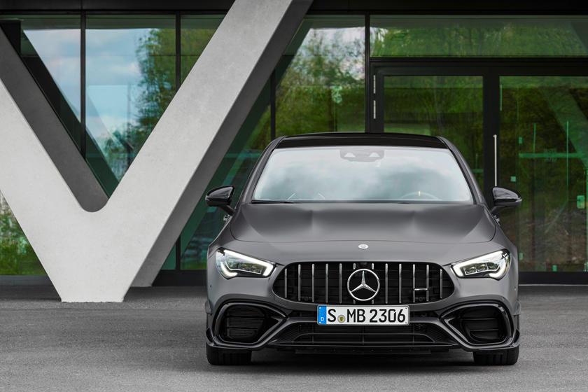 2021 Mercedes-Benz AMG CLA 45 Coupe Front View