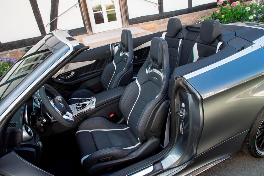 2020 Mercedes-Benz AMG C 63 Convertible Front Seat