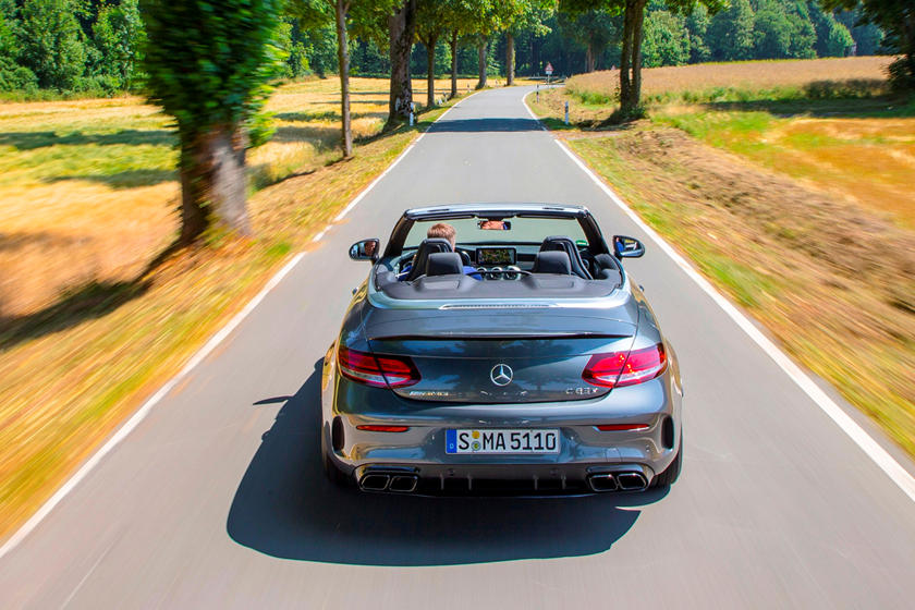 2020 Mercedes-Benz AMG C 63 Convertible Rear view