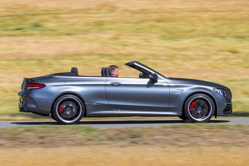 2020 Mercedes-Benz AMG C 63 Convertible Right Side View