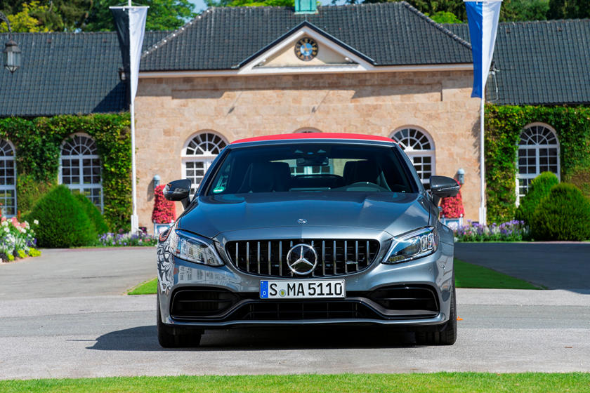 2021 Mercedes-Benz AMG C 63 Convertible front view