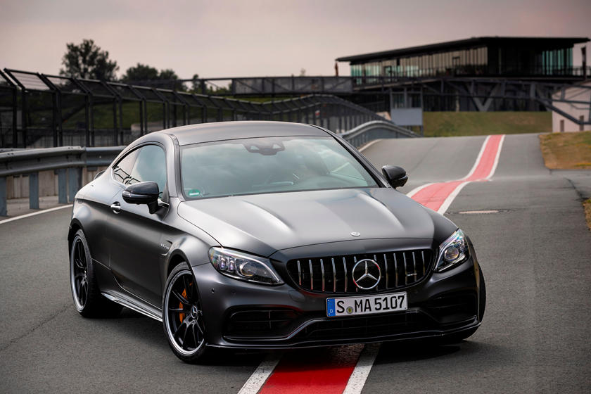 2020 Mercedes-Benz AMG C 63 S Coupe Front View