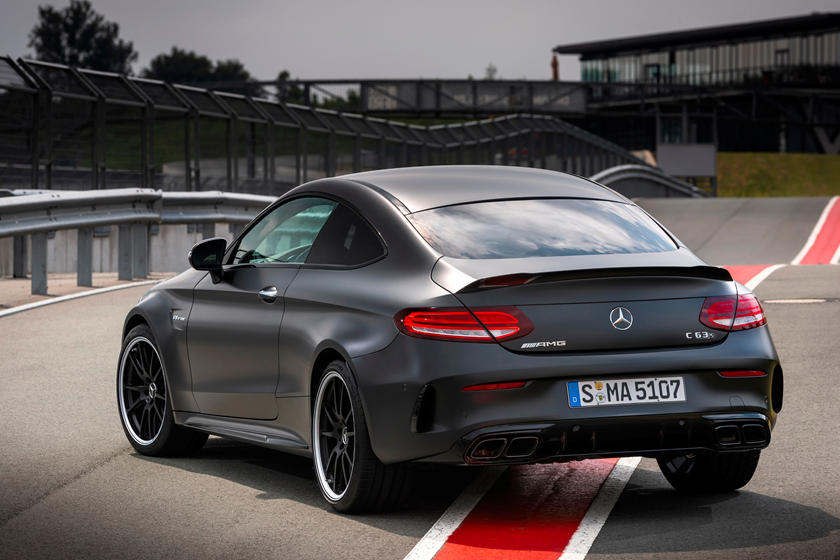 2020 Mercedes-Benz AMG C 63 S Coupe rear view