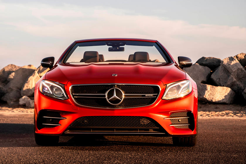 2020 Mercedes-Benz AMG E 53 Convertible Front View