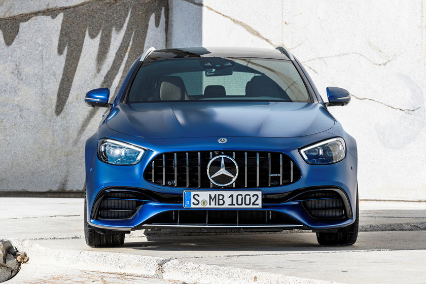 2021 Mercedes-Benz AMG E 63 S Wagon front view