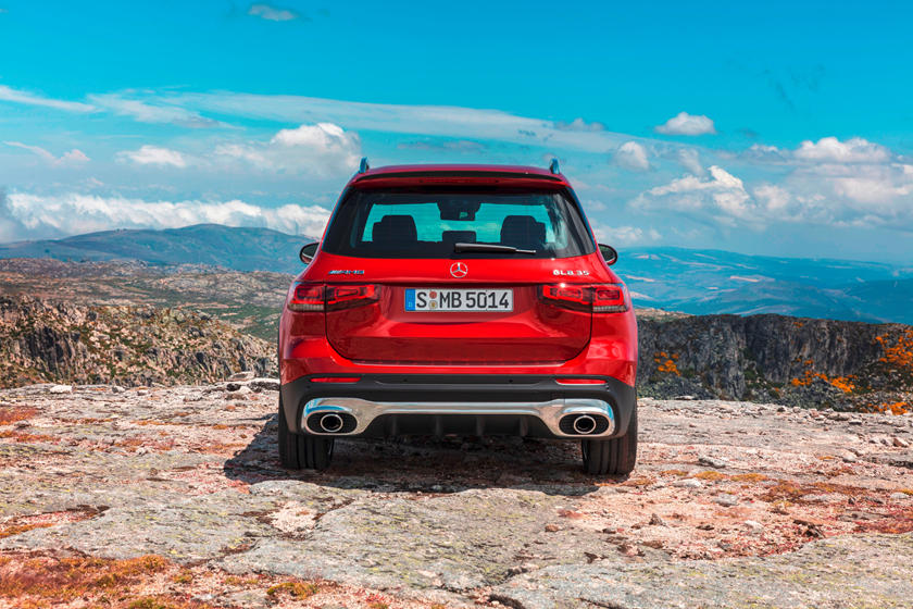 2021 Mercedes-Benz AMG GLB 35 SUV rear view