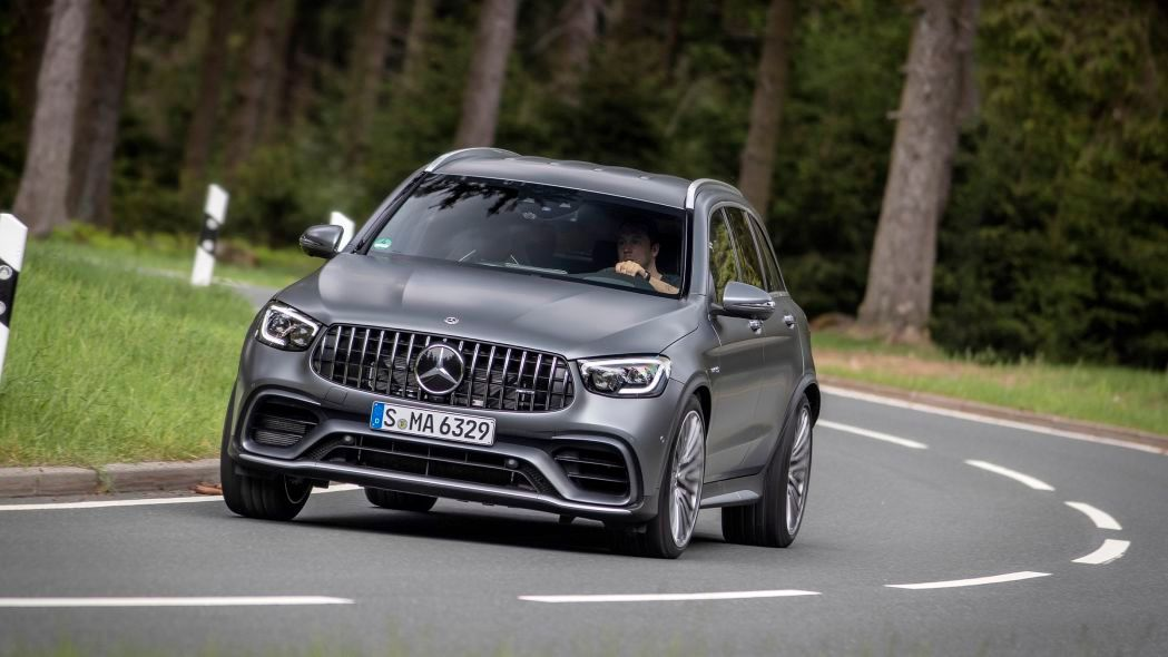 2020 Mercedes-Benz AMG GLC 63 SUV front view