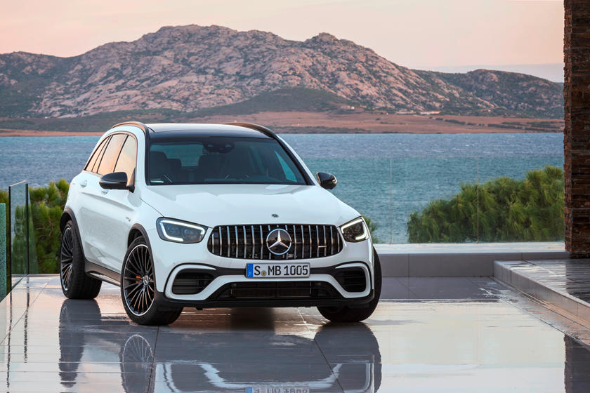 2021 Mercedes-Benz AMG GLC 63 SUV front view