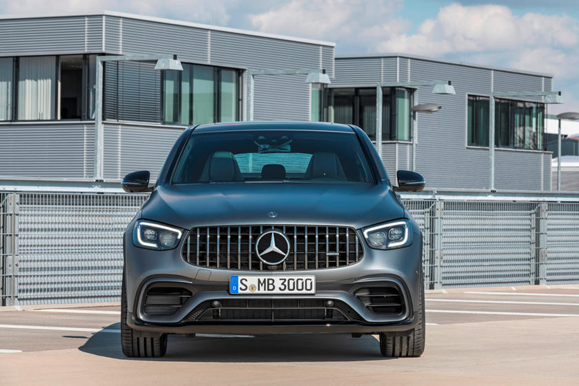 2021 Mercedes-Benz AMG GLC 63 Coupe SUV front view