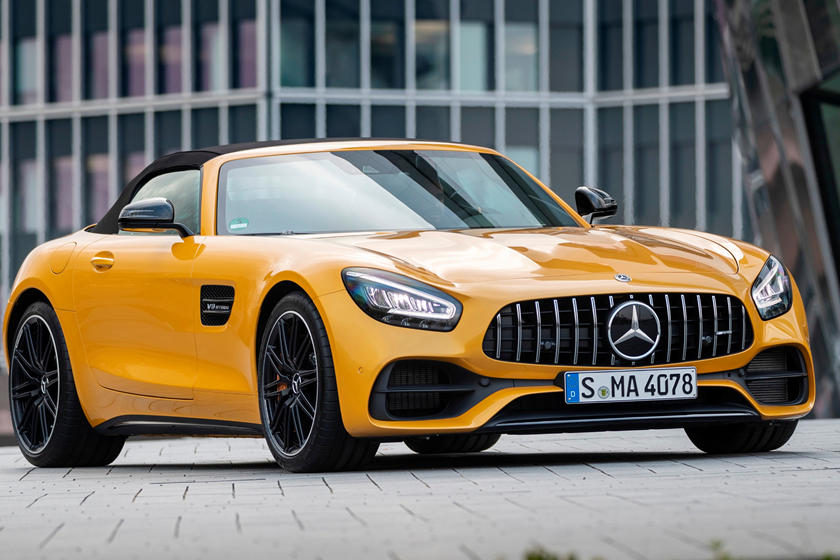 2020 Mercedes Benz AMG GT front view