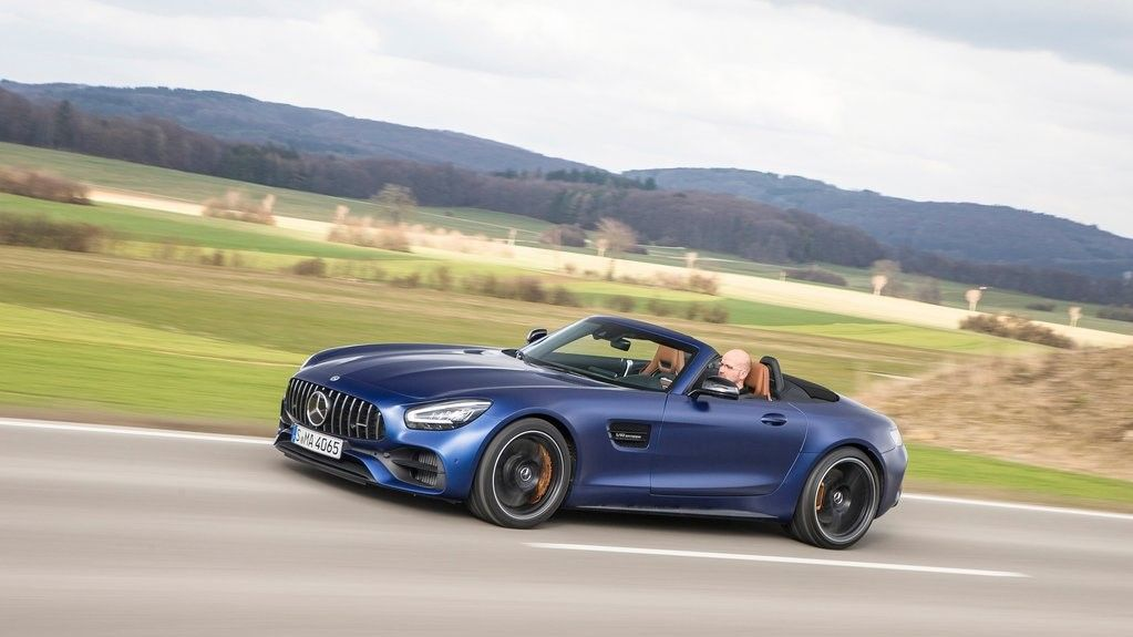 2020 Mercedes-Benz AMG GT C Convertible Front View