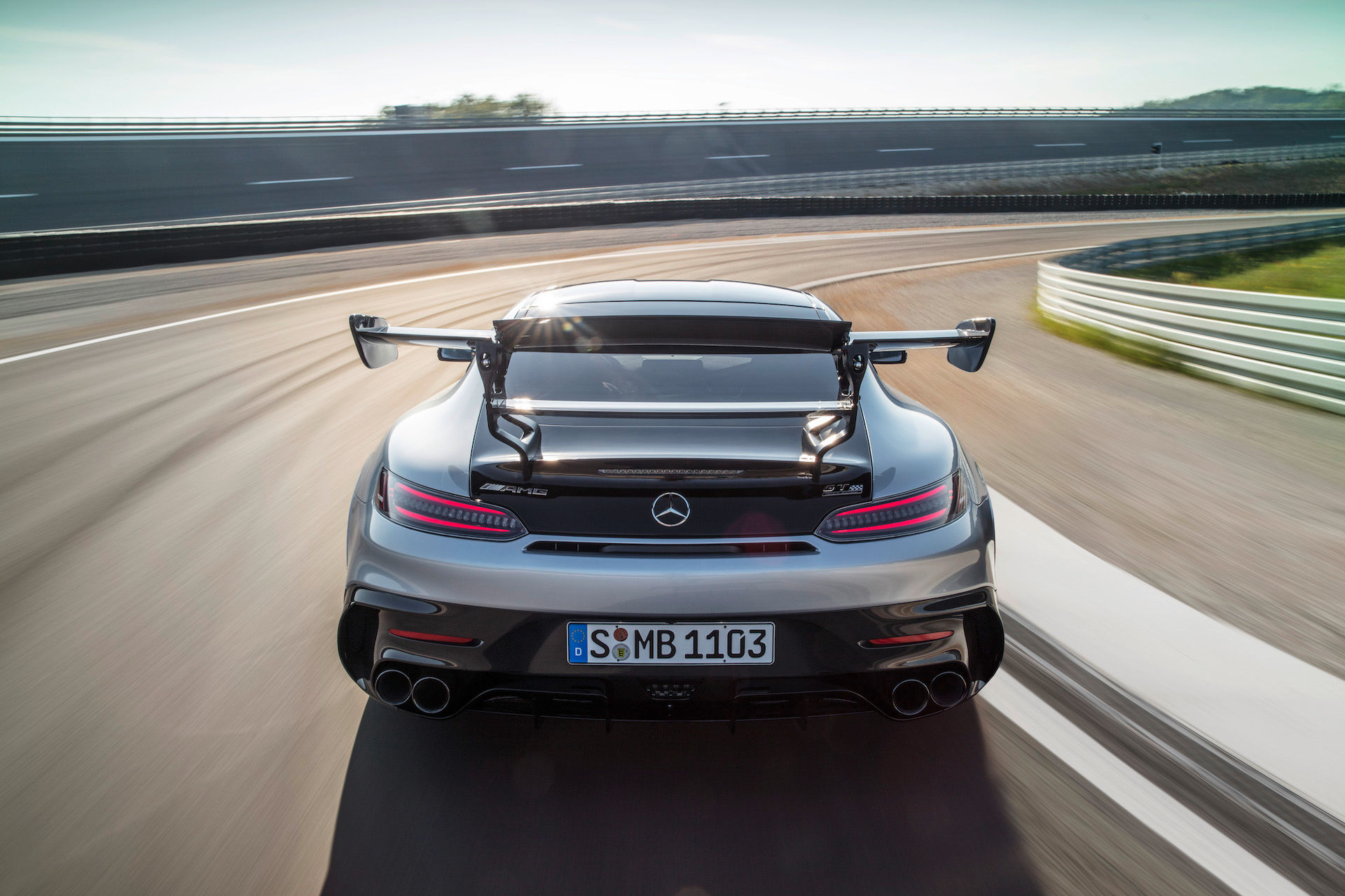 2021 Mercedes-Benz AMG GT Coupe rear view