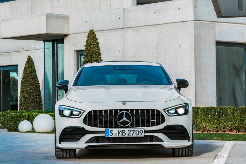 2021 Mercedes-Benz AMG GT 63 Sedan front view