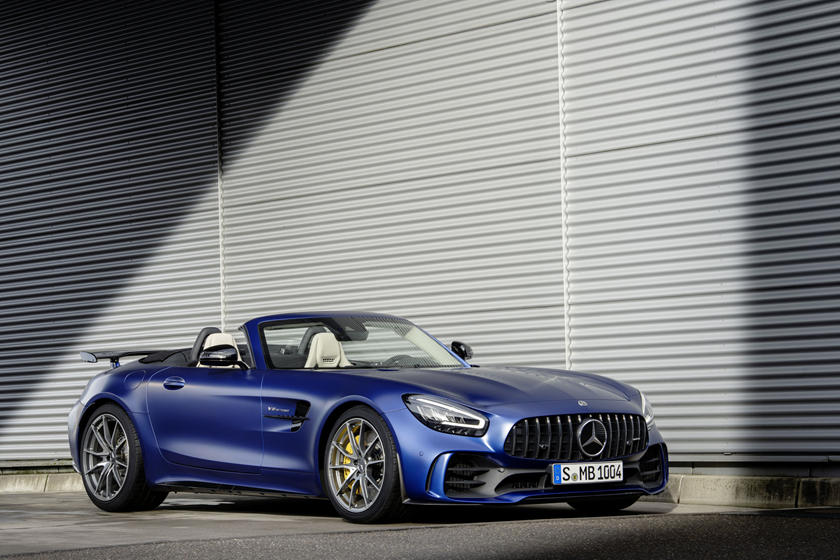 2020 Mercedes-Benz AMG GT R Roadster Front View