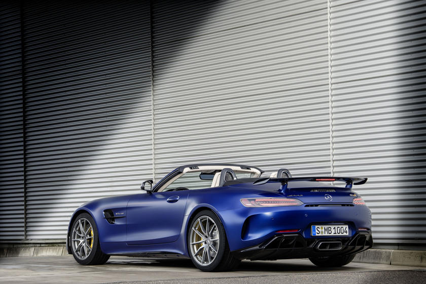 2020 Mercedes-Benz AMG GT R Roadster Rear View