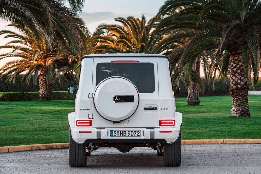 2021 Mercedes-Benz amg g 63 suv rear view