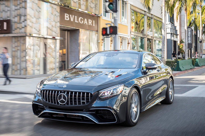 2020 Mercedes-Benz AMG S 63 Coupe front view