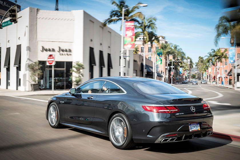 2020 Mercedes-Benz AMG S 63 Coupe rear view