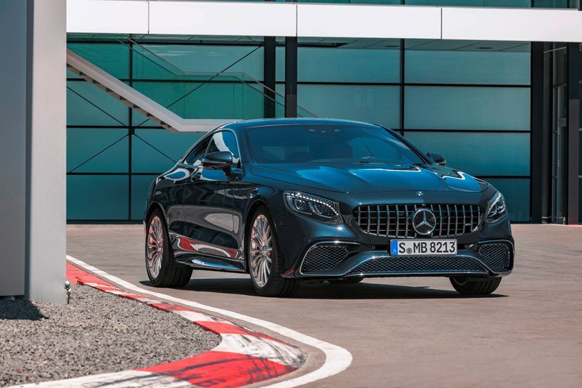 2020 Mercedes-Benz AMG S 65 Coupe Three Quarter Front View
