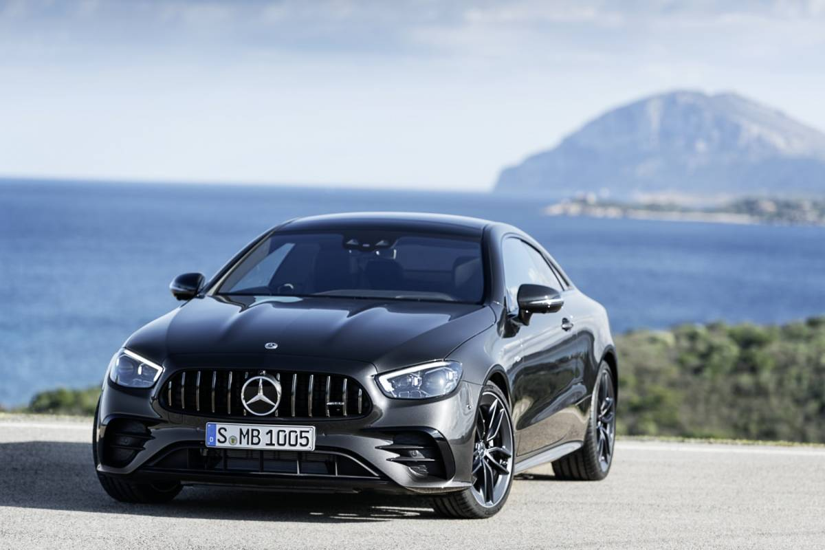2021 Mercedes-Benz E-Class Coupe Front View