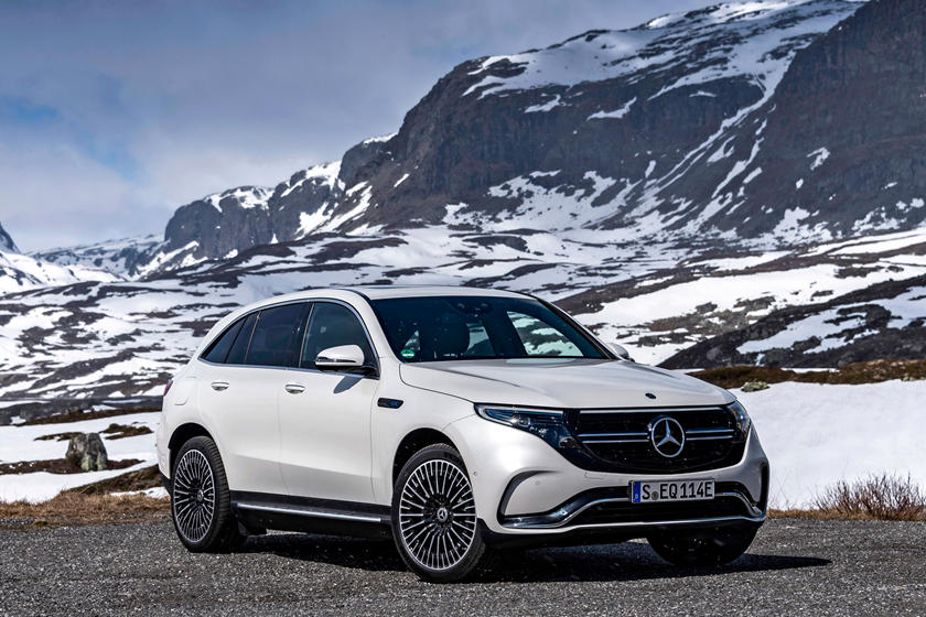 2020 Mercedes-Benz EQC SUV Front View