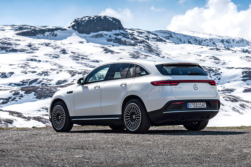 2020 Mercedes-Benz EQC SUV Rear View
