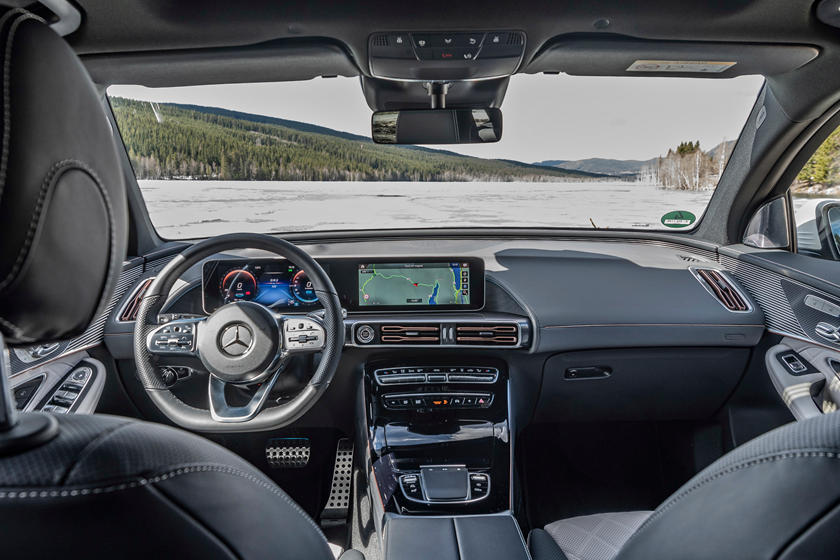 2020 Mercedes-Benz EQC SUV Dashboard