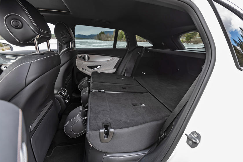 2020 Mercedes-Benz EQC SUV Rear Seat