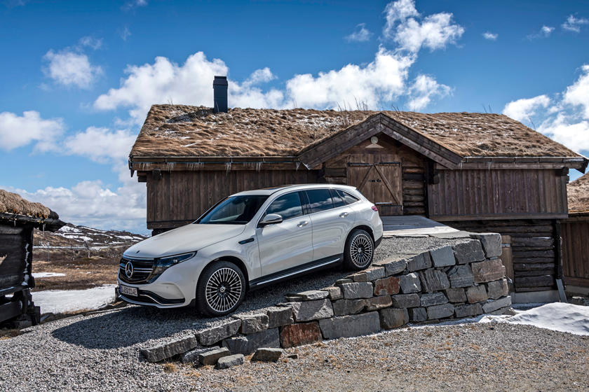 2020 Mercedes- Benz EQC SUV Right Side View
