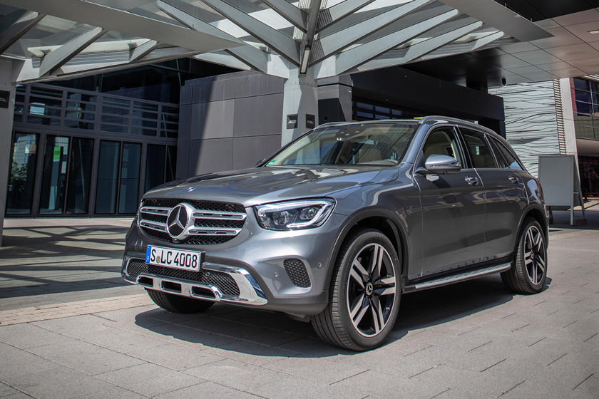2020 Mercedes-Benz GLC-Class SUV Front View