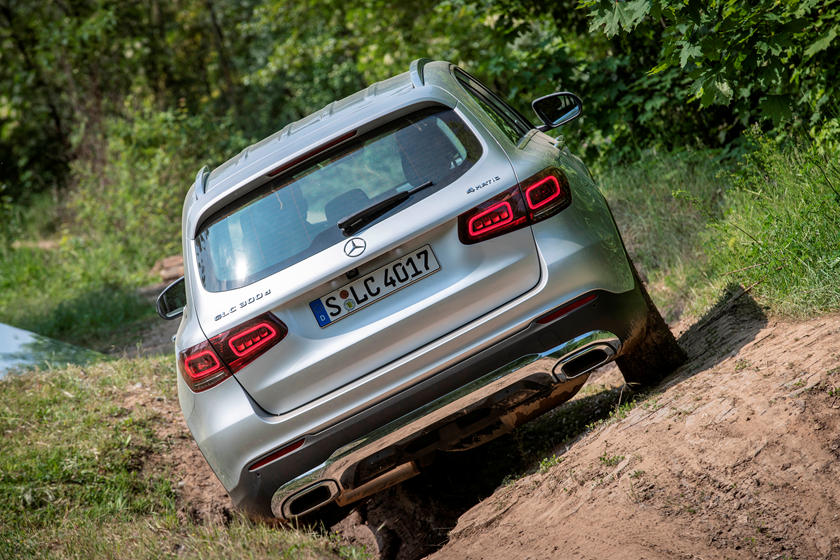 2021 Mercedes-Benz GLC-Class SUV rear view