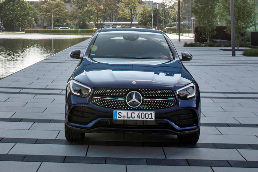2021 Mercedes-benz glc 300 coupe suv front view