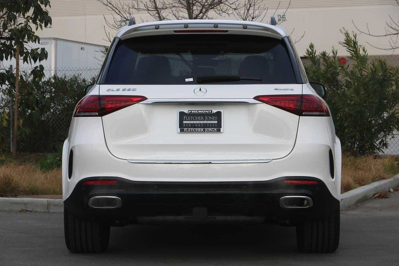 2021 Mercedes-Benz GLE 580 SUV rear view