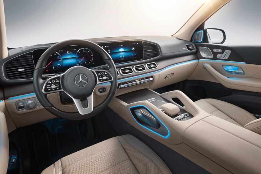 2020 Mercedes benz gls interior