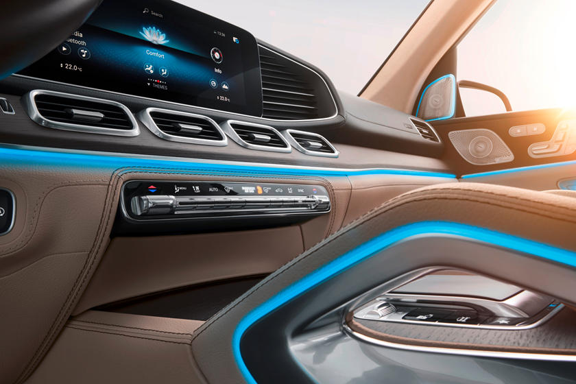 2020 Mercedes benz gls infotainment display