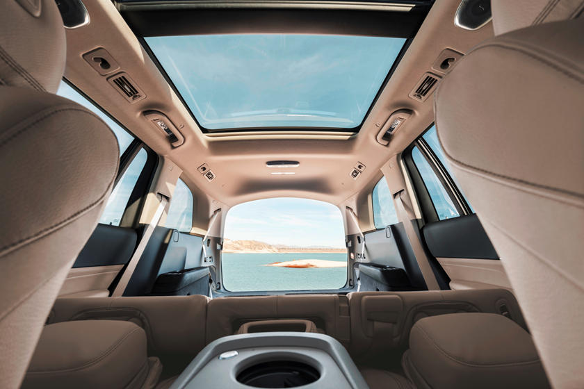 2020 Mercedes benz gls sunroof