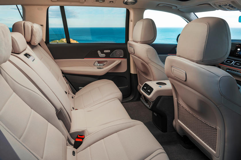2020 Mercedes benz gls rear seat