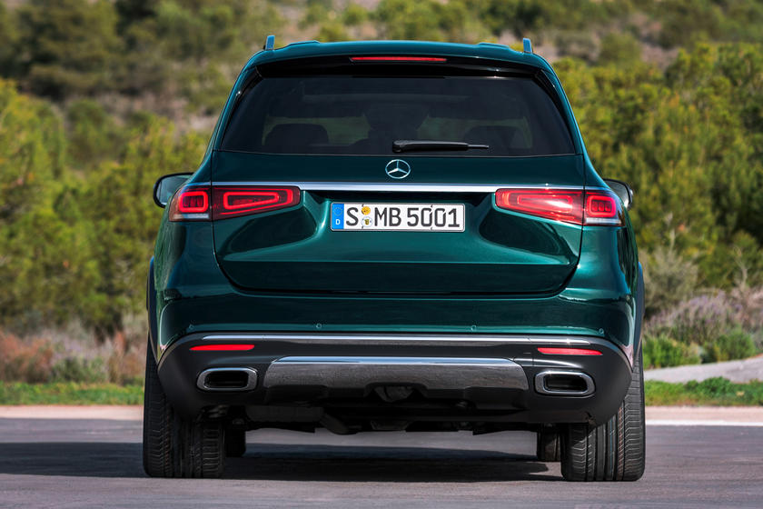2020 Mercedes benz gls rear view