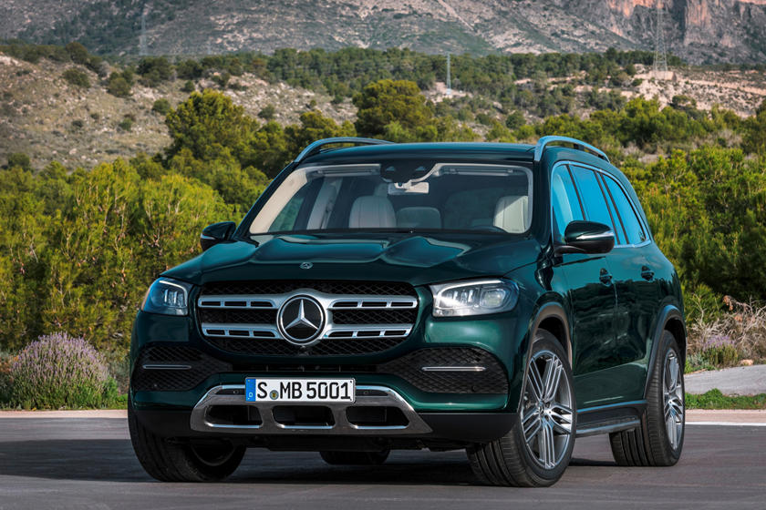 2020 Mercedes-Benz GLS 580 SUV front view