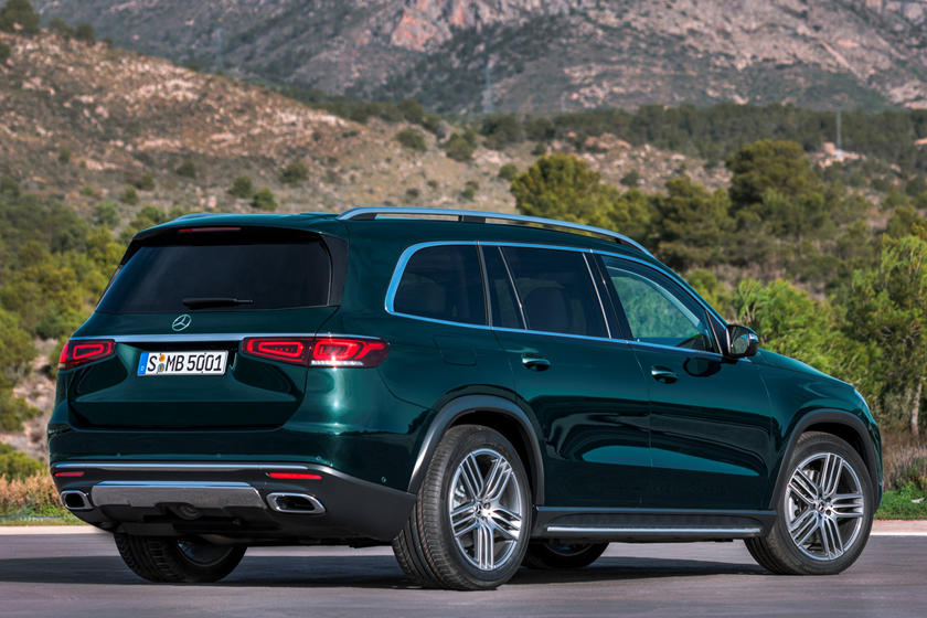 2020 Mercedes-Benz GLS 580 SUV rear view
