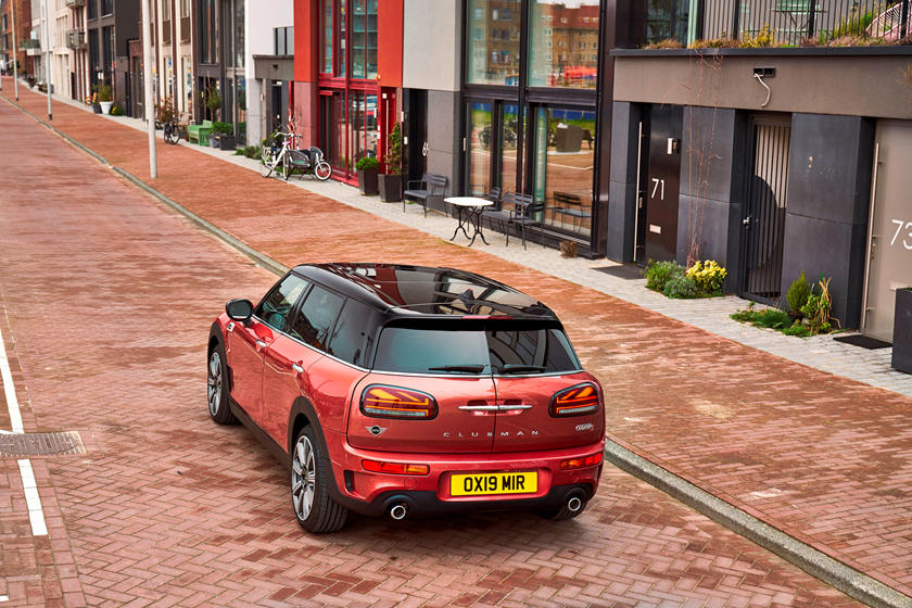 2020 Mini Clubman Hatchback back view
