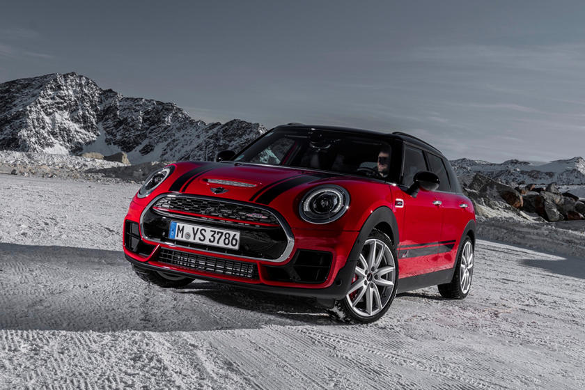 2020 Mini Clubman JCW front view