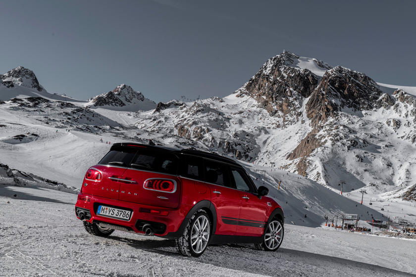 2020 Mini Clubman JCW rear view