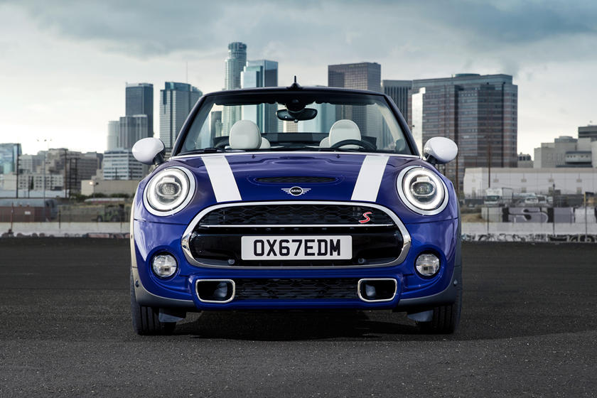 2021 Mini Cooper Convertible Front View