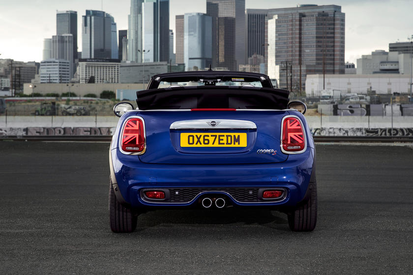 2021 Mini Cooper Convertible Rear View