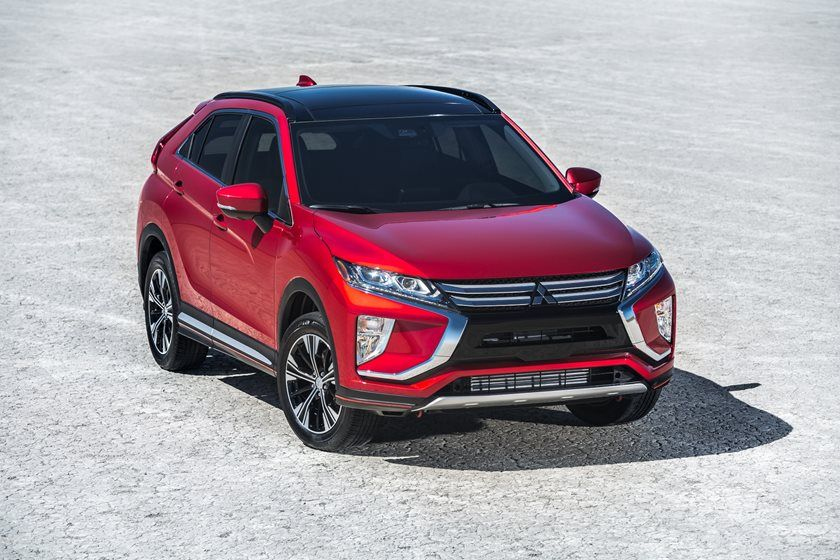2020 Mitsubishi Eclipse Cross front view