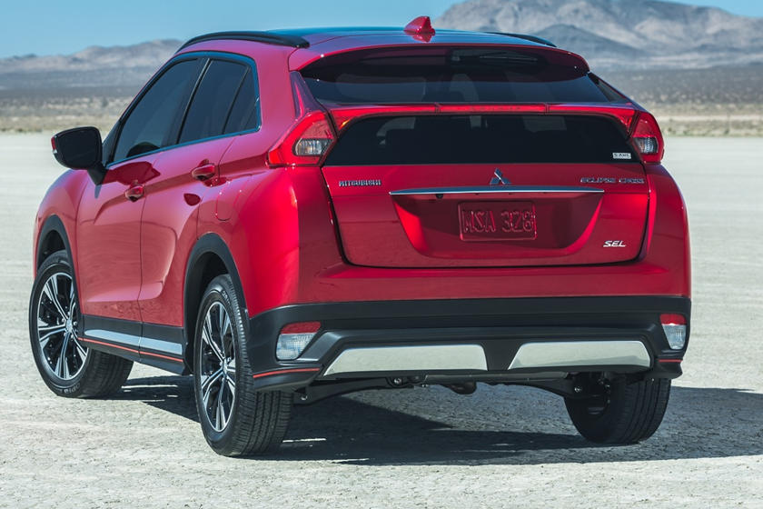 2020 Mitsubishi Eclipse Cross rear view