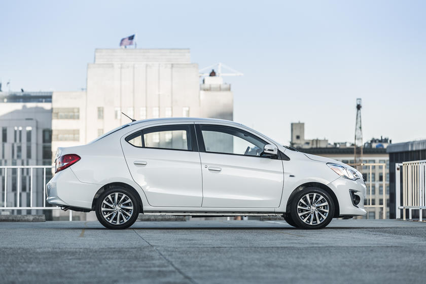 2020 Mitsubishi Mirage G4 Sedan Side View