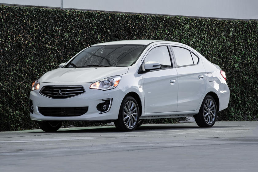 2020 Mitsubishi Mirage G4 Sedan Front View